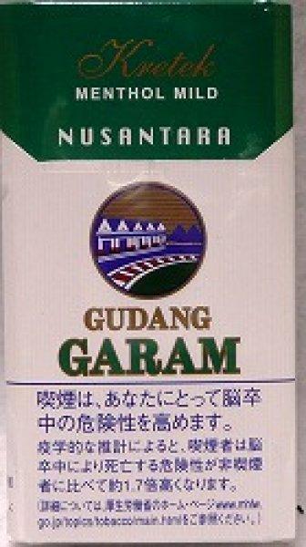 画像1: ガラム・ヌサンタラ・メンソール12 (1)